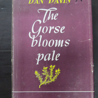 Dan Davin The Gorse Blooms Pale photo 1