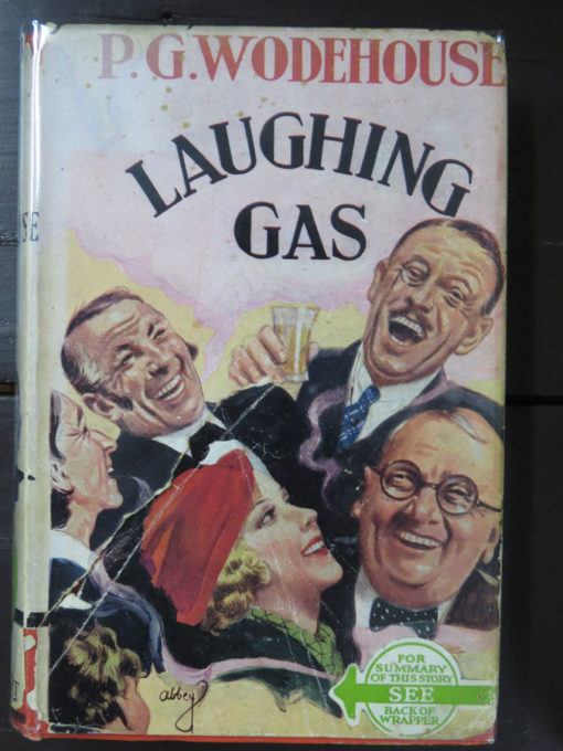 P. G. Wodehouse, Laughing Gas Photo1