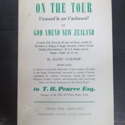 Allen Curnow, On Tour photo 1