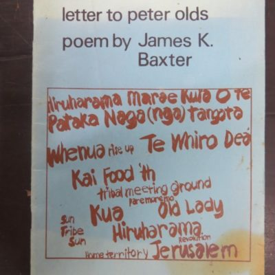James K Bacter Letter to Peter Olds photo 1