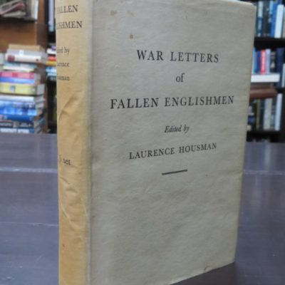 Lawrence Housman, War Letters photo 1
