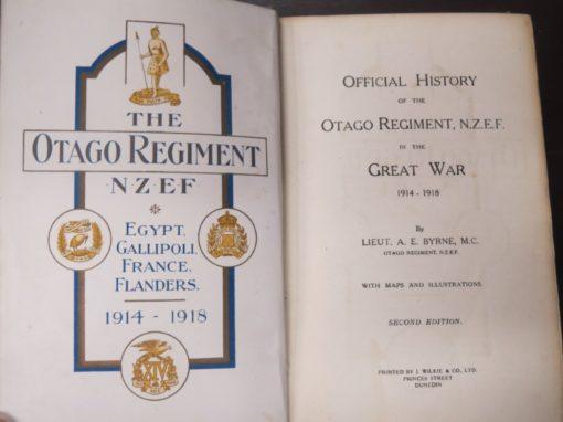 Byrne, Otago Regiment photo 1