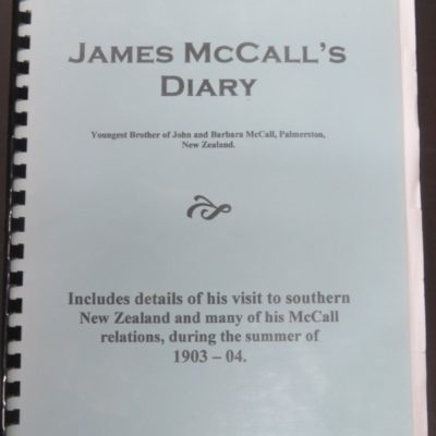McCall, Diary, photo 1