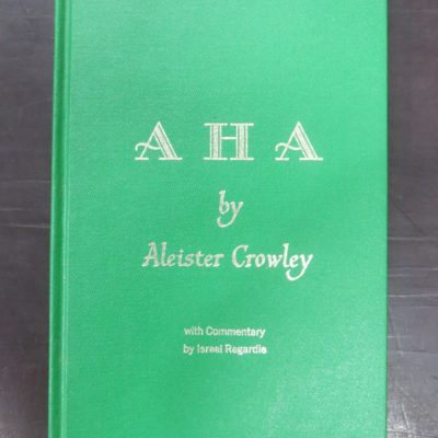 Aleister Crowley, A H A, photo 1