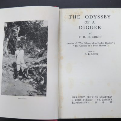 Burdett, Odyssey of a Digger, photo 1
