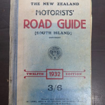 NZ Road Guide 1932, photo 1