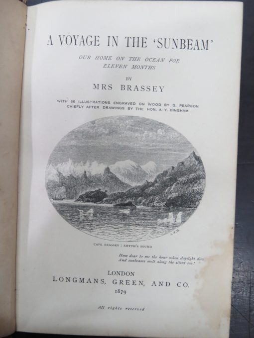 Mrs Brassey, Sunbeam, photo 1