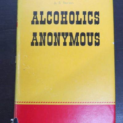 Alcoholics Anonymous, early UK edition, photo 1