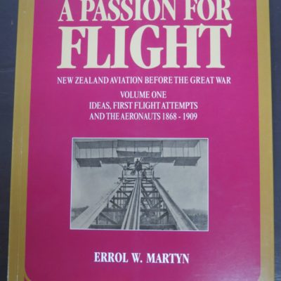 Errol Martin, Passion for Flight volume one, photo1