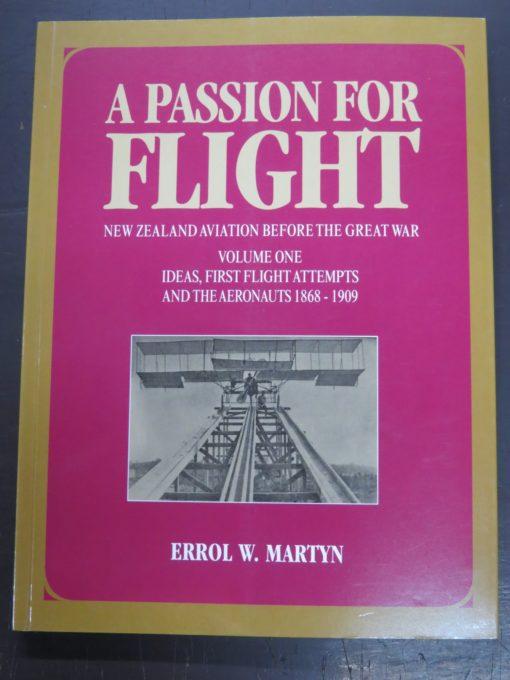 Errol Martin, Passion for Flight volume one, photo1