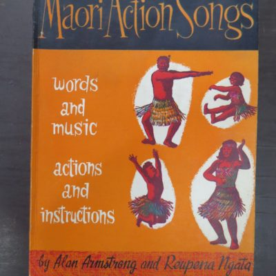 Maori Action Songs, Armstrong, Ngata, photo 1