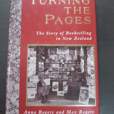 Anna Rogers Max Rogers, Turning the Pages, Bookselling in New Zealand, photo 1