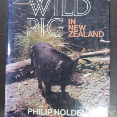 Philip Holden, Wild Pig in New Zealand, hunting, New Zealand, photo 1