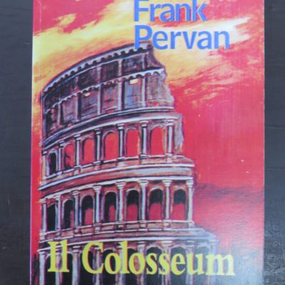 Frank Pervan I1 Colosseum, Square One Press, Dunedin, New Zealand Poetry, photo 1