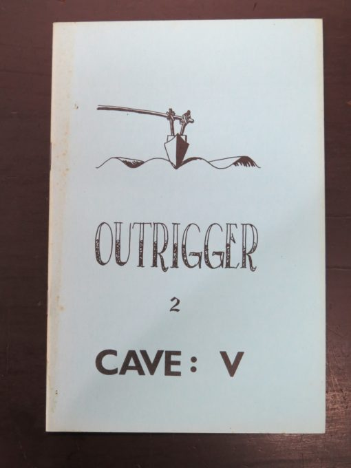 Outrigger, Caveman Press, New Zealand Poetry, photo 1