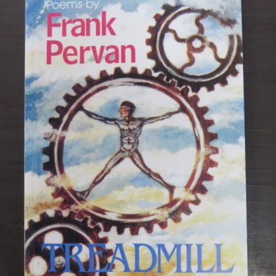 Frank Pervan, Treadmill, Square One Press, Dunedin, New Zealand Poetry, photo 1