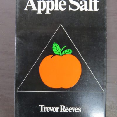 Trevor Reeves, Caveman Press, Dunedin, Apple Salt, photo 1
