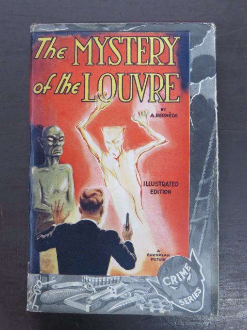 Arthur Bernede, Mystery of the Lourve, Readers Library, crime, mystery and detection, Dunedin Bookshop, Dead Souls Bookshop
