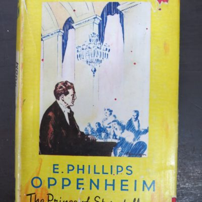 Phillips Oppenheim, A Pulpit in the Grill-Room, Yellow Jacket, Hodder & Stoughton, London, Vintage, Dunedin Bookshop, Dead Souls Bookshop