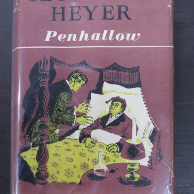 Georgette Heyer, Penhallow, Heinemann, London, Vintage, Dunedin Bookshop, Dead Souls Bookshop