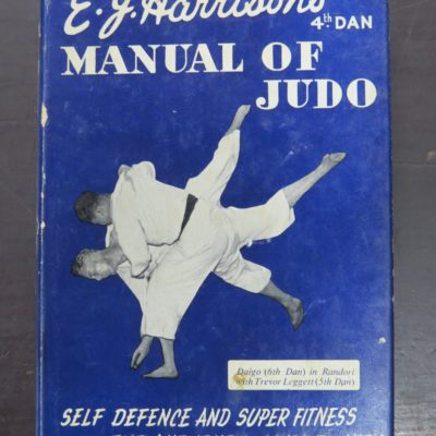 Harrison, Manual of Judo, Foulsham, London, Martial Arts, Sport, Dunedin Bookshop, Dead Souls Bookshop