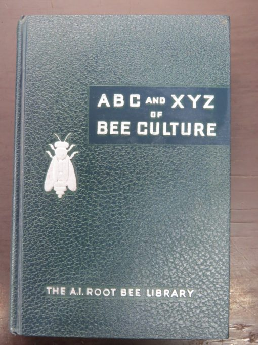 A. I. Root, ABC and XYZ of Bee Culture, Ohio, Beekeeping, Natural History, Dunedin Bookshop, Dead Souls Bookshop