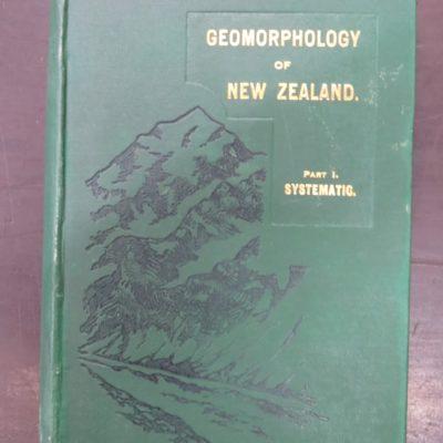 Cotton, Geomorphology, Wellington, Natural History, New Zealand Non-Fiction, Dunedin Bookshop, Dead Souls Bookshop