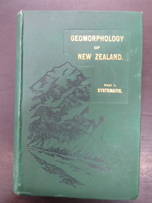 Cotton, Geomorphology, Wellington, Natural History, New Zealand Non-Fiction, Dunedin Bookshop, Dead Souls Bookshop