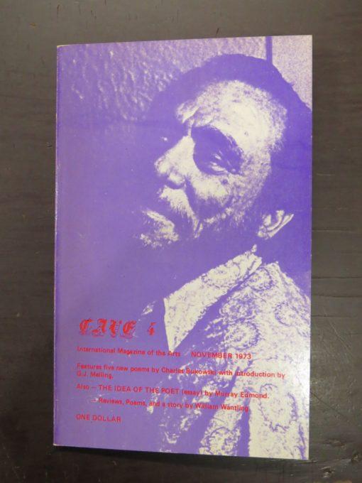 Cave 4, Trevor Reeves, Caveman Press, Dunedin, New Zealand Poetry, New Zealand Literature, Bukowski, Dunedin Bookshop, Dead Souls Bookshop