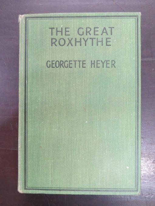 Georgette Heyer, The Great Roxhythe, Heinemann, London, Vintage, Dunedin Bookshop, Dead Souls Bookshop