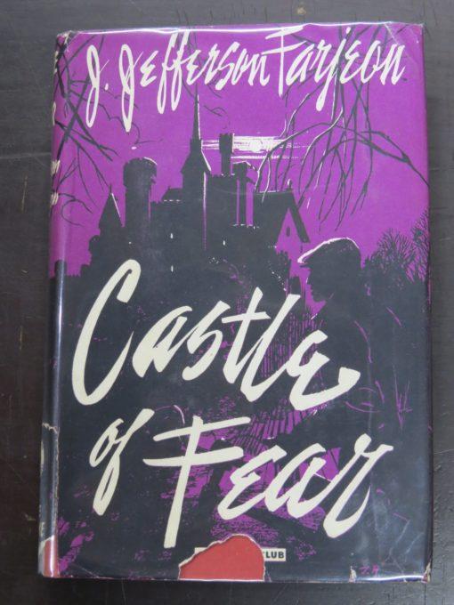 Jefferson Farjeon, Castle of Fear, The Crime Club, Collins, London, Crime, Mystery, Detection, Dunedin Bookshop, Dead Souls Bookshop