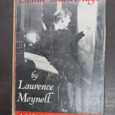 Laurence Meynell, Sonia Back Stage, Career Novel, Chatto & Windus, London, Literature, Vintage, Dunedin Bookshop, Dead Souls Bookshop,