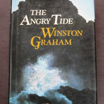 Winston Graham, Angry Tide, Seventh Poldark Novel, Collins, London, 1977, Literature, Dunedin Bookshop, Dead Souls Bookshop