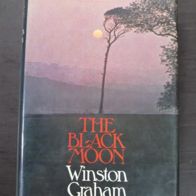 Winston Graham, The Black Moon, Collins, London, 1973, Literature, Dunedin Bookshop, Dead Souls Bookshop