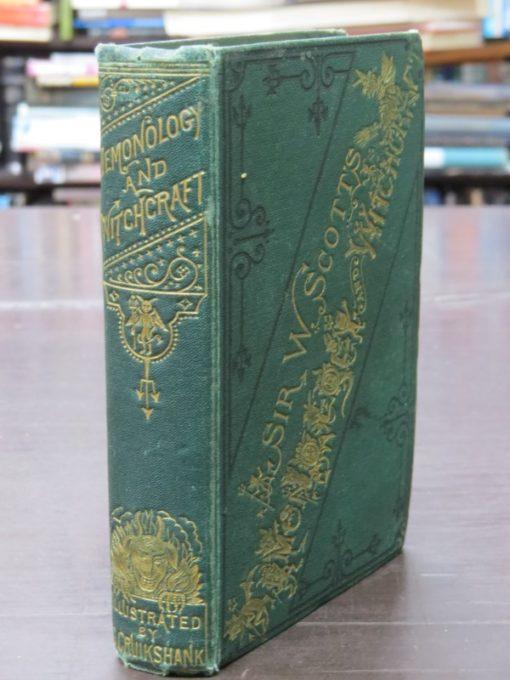 Walter Scott, Demonology and Witchraft, William Tegg, 1868, Cruikshank, Occult, Literature, Dunedin Bookshop, Dead Souls Bookshop