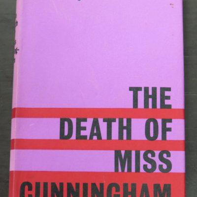 Jacques Cousseau, The Death of Miss Cunningham, Faber, London, 1962, Crime, Mystery, Detection, Dunedin Bookshop, Dead Souls Bookshop