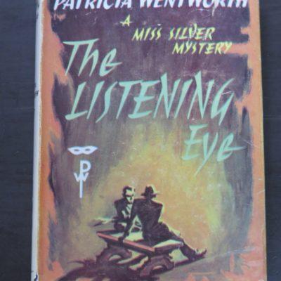 Patricia Wentworth, The Listening Eye, Hodder & Stoughton, London, 1957, Crime, Mystery, Detection, Dunedin Bookshop, Dead Souls Bookshop