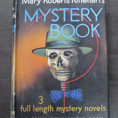 Mary Roberts Rinehart, Mystery Book, Crime Connoisseur, Cassell, London, 1956, Crime, Mystery, Detection, Dunedin Bookshop, Dead Souls Bookshop