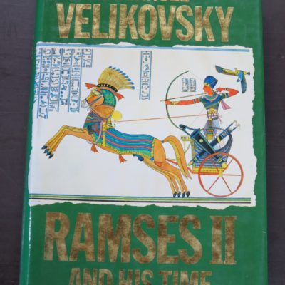 Immanuel Velikovsky, Ramses II and His Time, Sidgwick and Jackson, London, Occult, Religion, Philosophy, Dunedin Bookshop, Dead Souls Bookshop