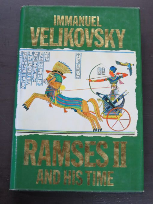Immanuel Velikovsky, Ramses II and His Time, Sidgwick and Jackson, London, Occult, Religion, Philosophy, Dunedin Bookshop, Dead Souls Bookshop