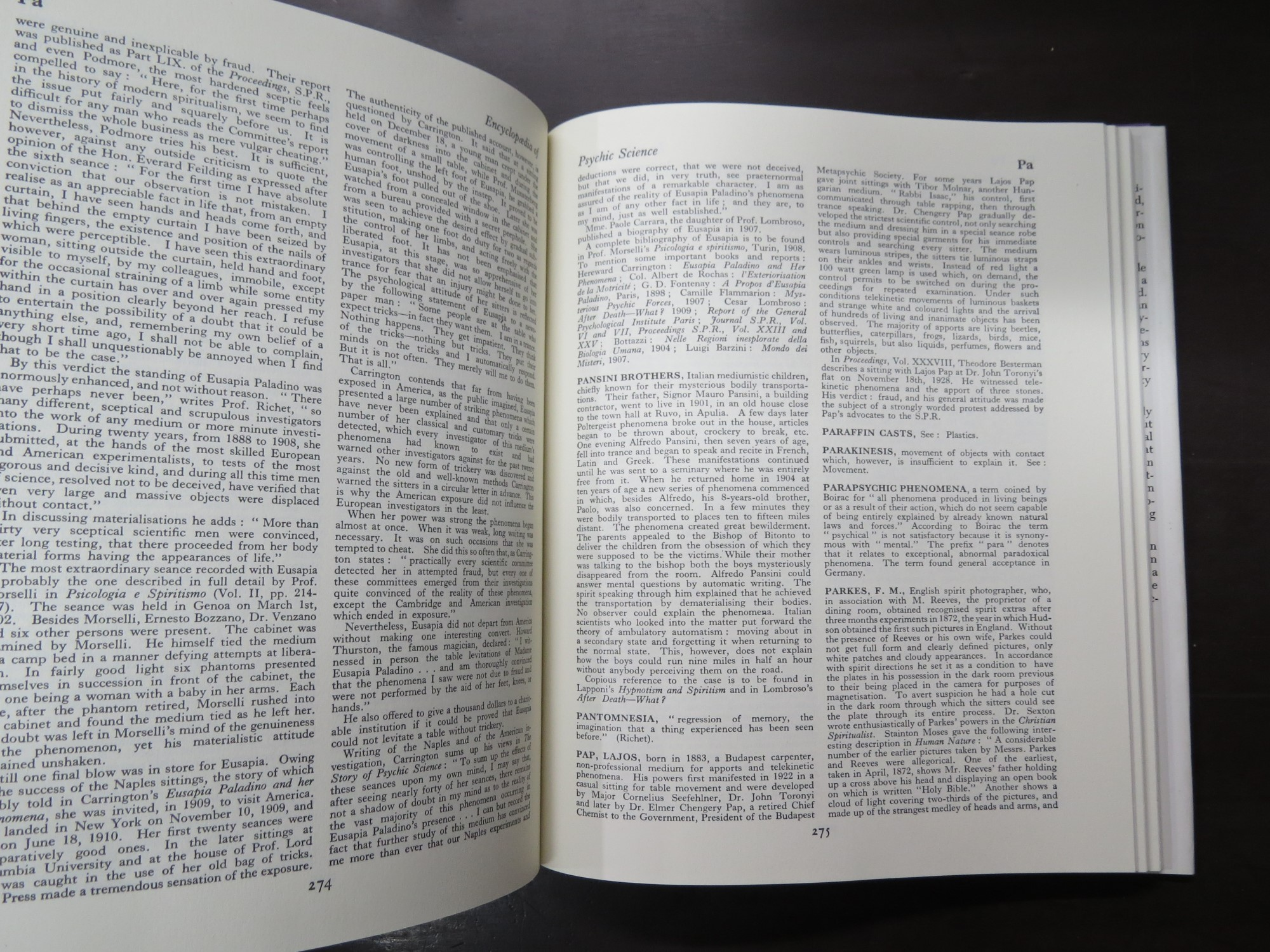 Nandor Fodor, Encyclopedia of Psychic Science | Deadsouls Bookshop
