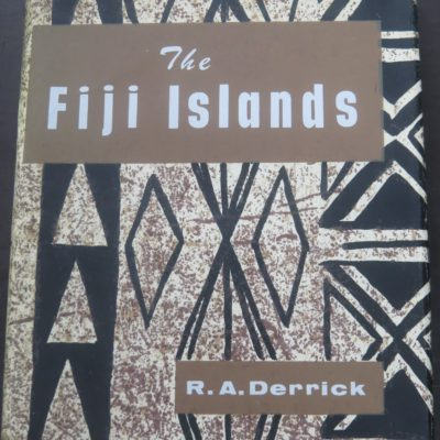 Derrick, The Fiji Islands, Government Printer, Suva, Pacific, History, Fiji, Dead Souls Bookshop, Dunedin Book Shop
