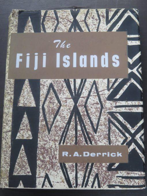 Derrick, The Fiji Islands, Government Printer, Suva, Pacific, History, Fiji, Dead Souls Bookshop, Dunedin Book Shop