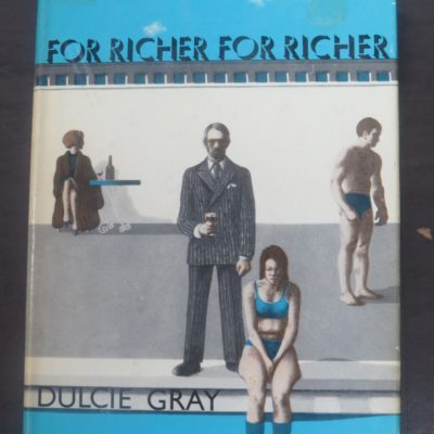 Dulcie Gray, For Richer For Richer, Macdonald, London, Literature, Dead Souls Bookshop, Dunedin Book Shop