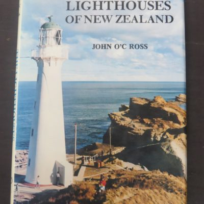 Ross, Lighthouses of New Zealand, Dunmore Press, Palmerston North, New Zealand Non-Fiction, Dead Souls Bookshop, Dunedin, Bookshop