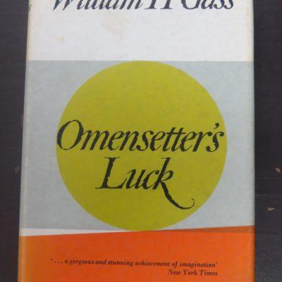 William H Gass, Omensetter's Luck, Collins, London, Literature, Dead Souls Bookshop, Dunedin Book Shop