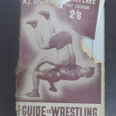 N.Z. Sporting Life and Referee 1947, New Zealand Sport, Dead Souls Bookshop, Dunedin Bookshop