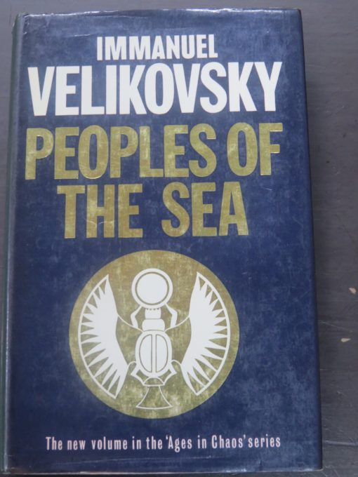Immanuel Velikovsky, Peoples of the Sea, Sidgwick and Jackson, London, 1977, Philosophy, Occult, Dead Souls Bookshop, Dunedin Bookshop