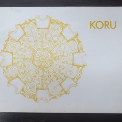 Koru Volume One, 1976, Maori Arts, New Zealand Art, Dead Souls Bookshop, Dunedin Book Shop