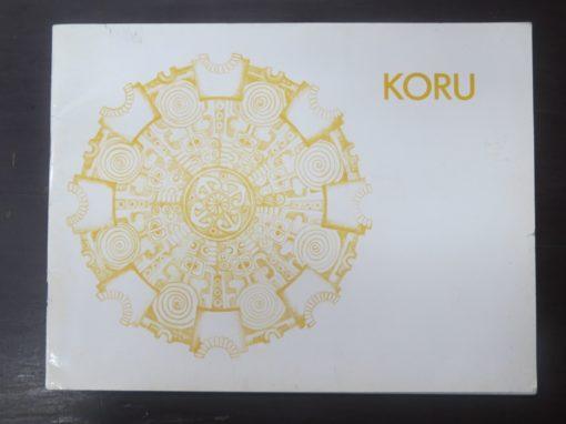 Koru Volume One, 1976, Maori Arts, New Zealand Art, Dead Souls Bookshop, Dunedin Book Shop